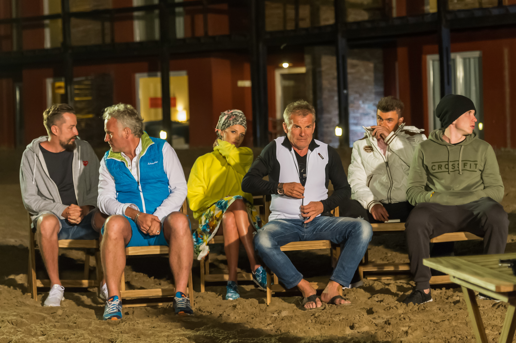 Piotr, Jarek, Daria, Marek, Tomek i Alan